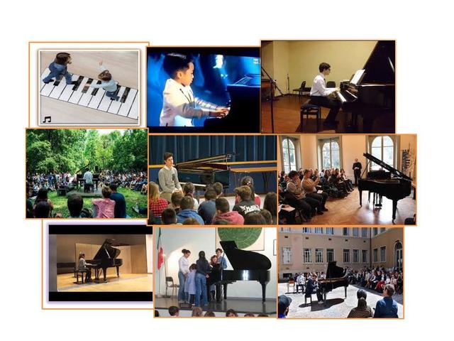 Corsi Individuali e Collettivi di Pianoforte.