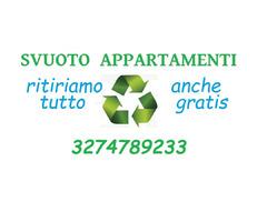 Sgomberiamo appartamenti a Bologna 3274789233